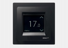 termostat Devireg Touch Black